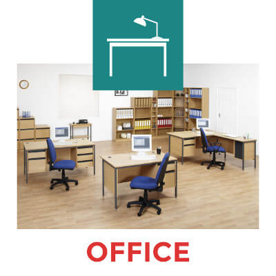 office desks, chairs, filing cabinets & more